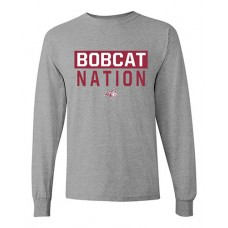 William Bryant 2020 BOBCAT NATION Long-sleeved T (Sport Grey)